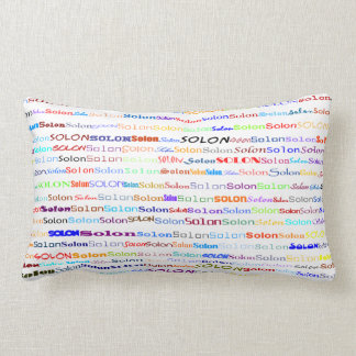 Solon Text Design II Lumbar Pillow