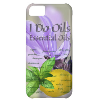 Solos aceites esenciales funda iPhone 5C