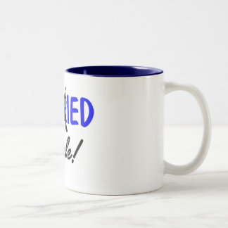 Solos divorciada (azul) tazas