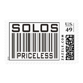 Solos Priceless Postage Stamps