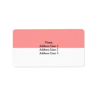 Solothurn, Switzerland Address Label