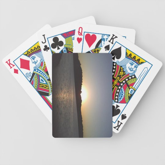 solstice bicycle playing cards