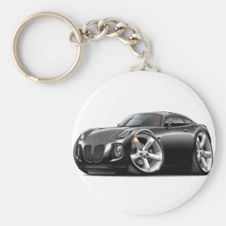 Solstice Black Car Keychain