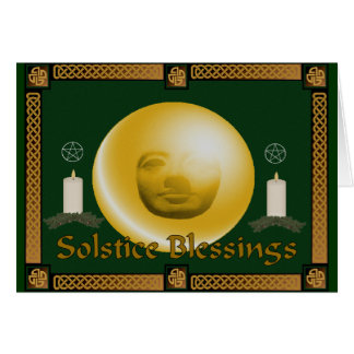 Solstice Blessings Card