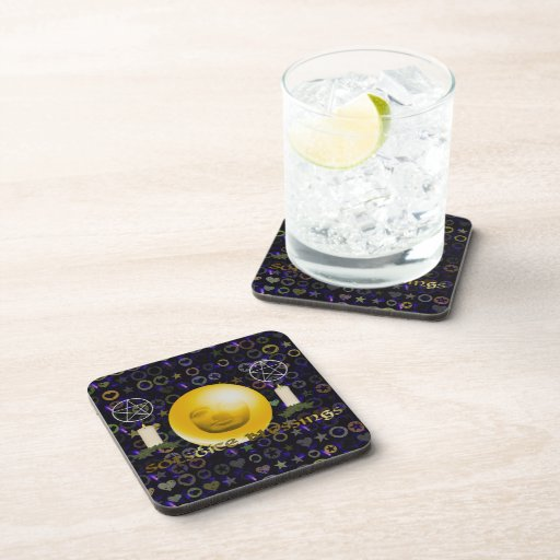 Solstice Blessings Drink Coaster