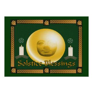 Solstice Blessings Invitation