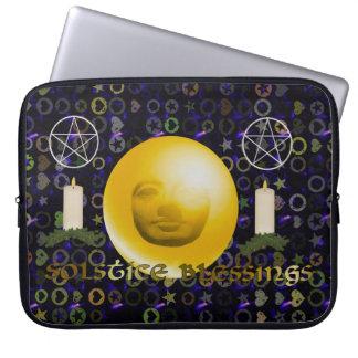 Solstice Blessings Laptop Sleeves