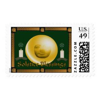 Solstice Blessings Postage