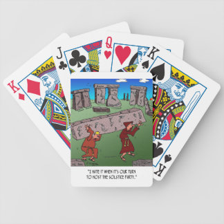 Solstice Cartoon 9494 Bicycle Playing Cards