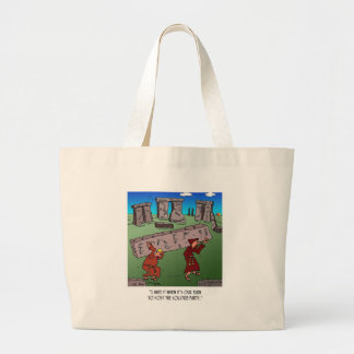 Solstice Cartoon 9494 Large Tote Bag