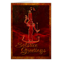 Solstice Greetings Card