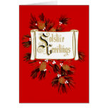 Solstice Greetings Holiday Card