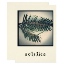 Solstice - Holiday Card