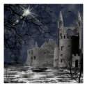 Solstice Night Gothic Landscape Print print