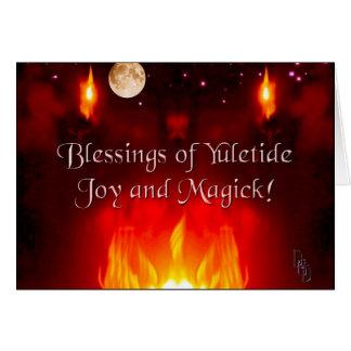 Solstice Night Greeting Card