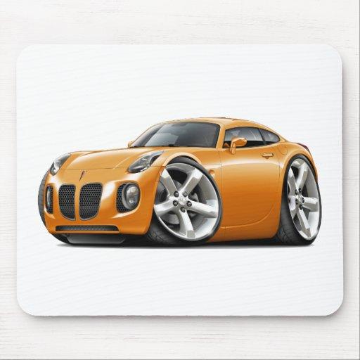 Solstice Orange Car Mouse Pads