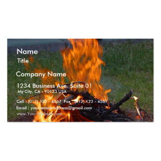 Solstice Party Business Card Templates