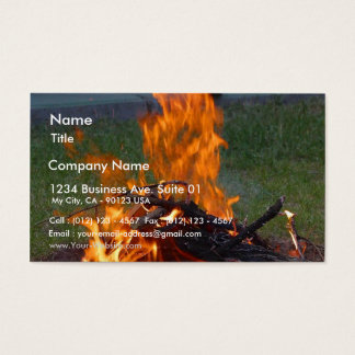 Solstice Party Business Card