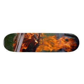 Solstice Party Custom Skateboard