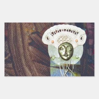Solstice Queen - collage Stickers
