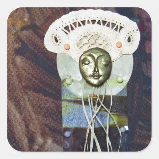 Solstice Queen - collage Sticker