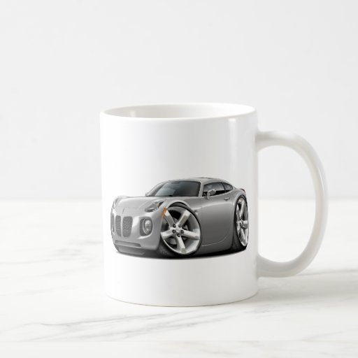 Solstice Silver Car Coffee Mug