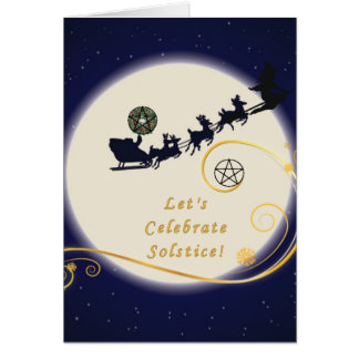 Solstice Sleigh Card