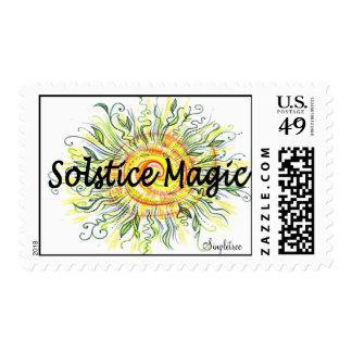 Solstice Stamp