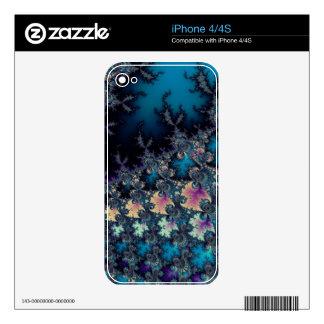 Solstice Sunrise Fractal Set iPhone 4 Decals