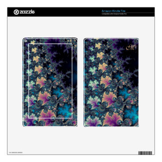 Solstice Sunrise Fractal Set Skin For Kindle Fire