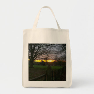 Solstice Sunset Tote Bags