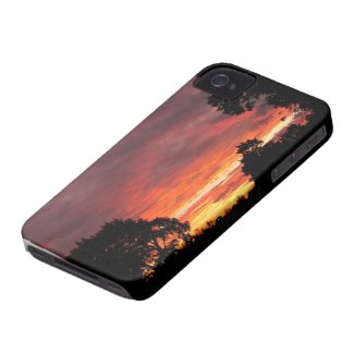 Solstice Sunset ~ iPhone 4 CaseMate Barely There casematecase