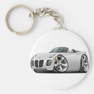 Solstice White Convertible Keychain