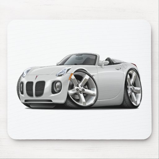 Solstice White Convertible Mouse Pad