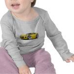 Solstice Yellow Car Tee Shirt