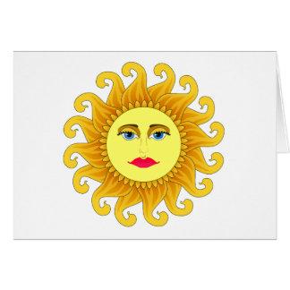 solsticio 2012 tarjeta de felicitación