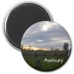Solsticio de Avebury Imán Para Frigorifico