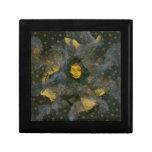 Solsticio de invierno Eve - collage Cajas De Joyas