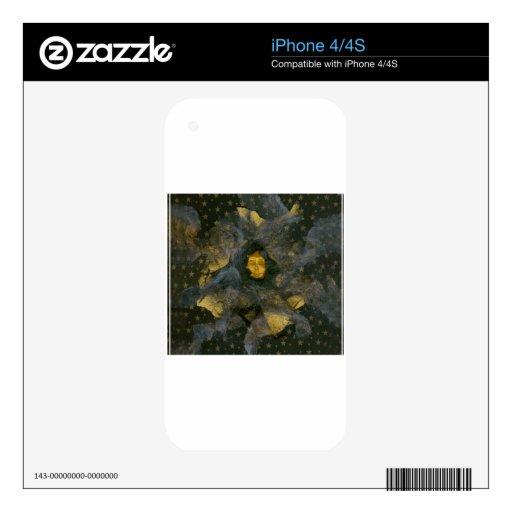 Solsticio de invierno Eve - collage Skin Para El iPhone 4