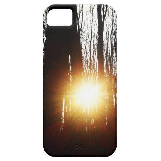 Solsticio de invierno funda para iPhone SE/5/5s