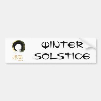Solsticio de invierno [kanji], Enso Etiqueta De Parachoque