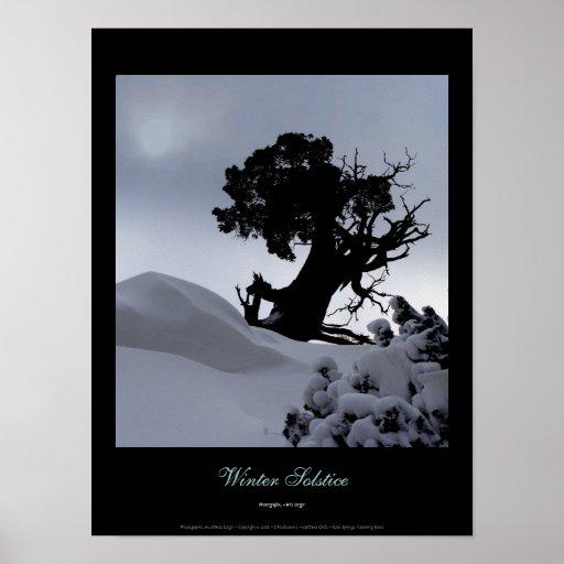 Solsticio de invierno póster