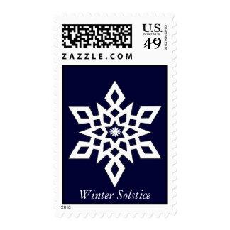 Solsticio de invierno sellos postales