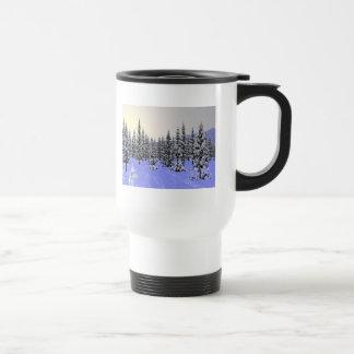 Solsticio de invierno taza térmica