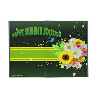 Solsticio de verano feliz iPad mini cárcasa