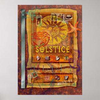 Solsticio de verano póster