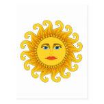 solsticio de verano tarjeta postal
