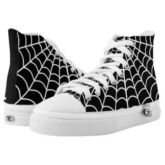 Solterona negra zapatillas