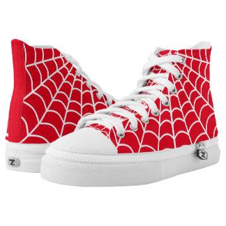 Solterona roja zapatillas