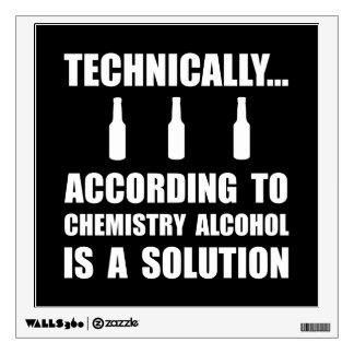 Solución del alcohol de la química vinilo decorativo